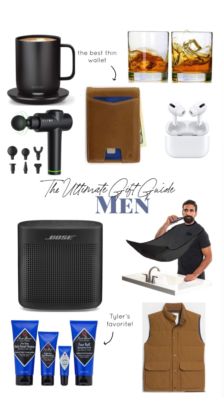 The Ultimate Gift Guide: Men